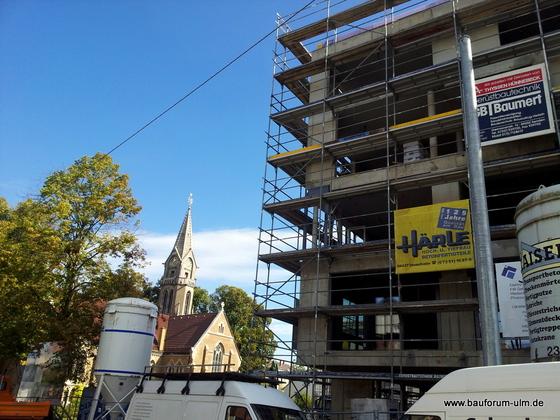 Ulm Neues Gemeindehaus  Wohnanlage Koenigstraße Oktober 2012 (6)