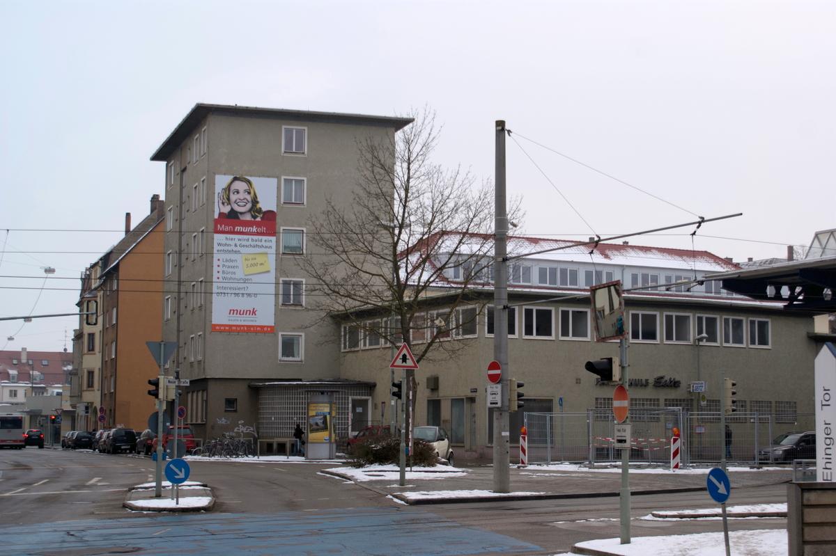 Ulm Wohn und Geschäftshaus Schillerstraße  Ehinger Straße (1)