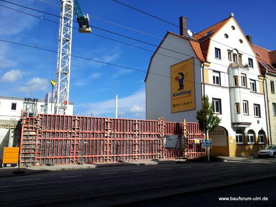 Ulm Wohn und Geschäftshaus Ulm Söflingen Oktober 2012 (1)