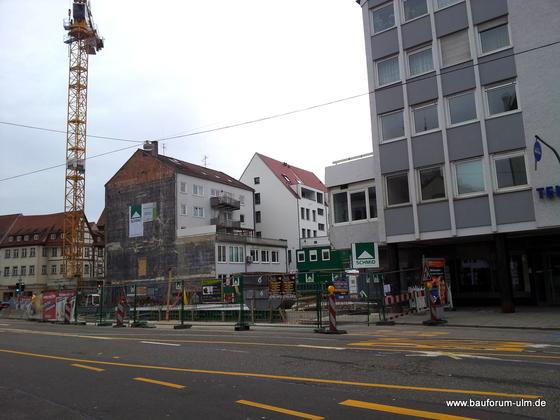 Wohn und Geschäftshaus  Frauenstraße - Neue Straße - Schlegelgasse Januar 2013 (1)
