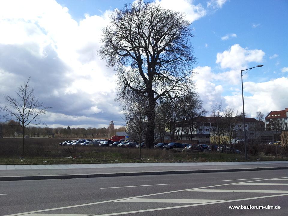 Neu Ulm Grüne Höfe  Ehemaliges Bahngelände hinter der Post April 2013 (1)