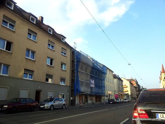 Ulm Wohnhaus Sanierung Karlstraße Juli 2013