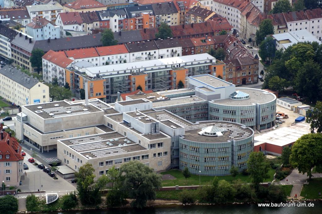 Neu Ulm Donauklinik-Erweiterungsbau  Krankenhausstraße 11 August 2013 (1)