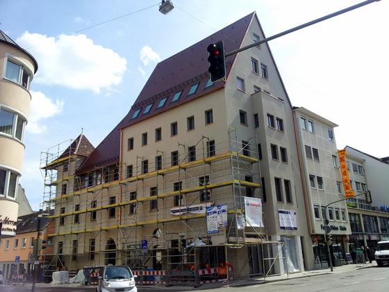 Ulm Frauenstraße 30 Ehemalige Dreikönigskirche April 2014