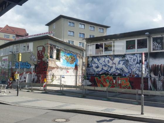 Ulm Das Y - Neubau Bürogebäude  Ehinger Straße 23 August 2014