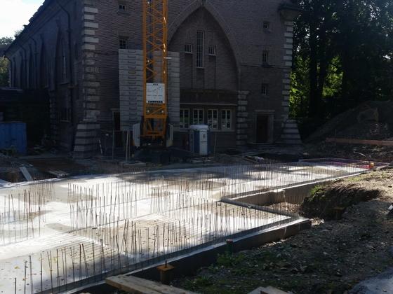 Ulm Bismarckring Neues Gemeindehaus für die Reformationsgemeinde September 2014 (1)