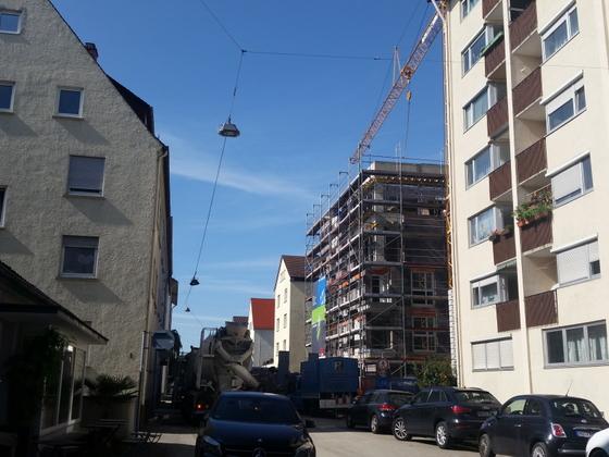 Ulm Wörthstraße Neubau Wohnhaus September 2014 (1)
