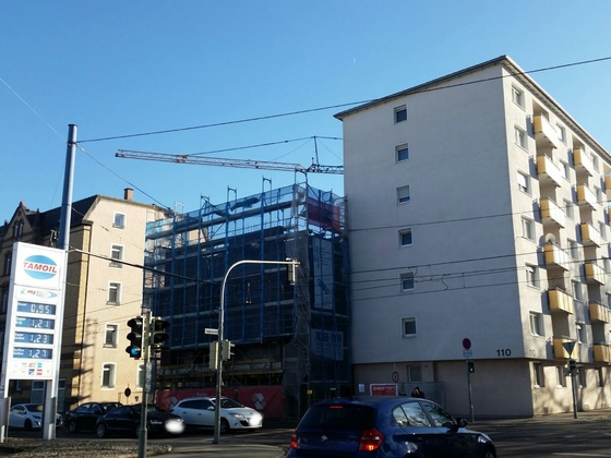 Wohnhochhaus / Olgastraße 110