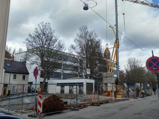 Neubau Zeitblomstraße Januar 2017