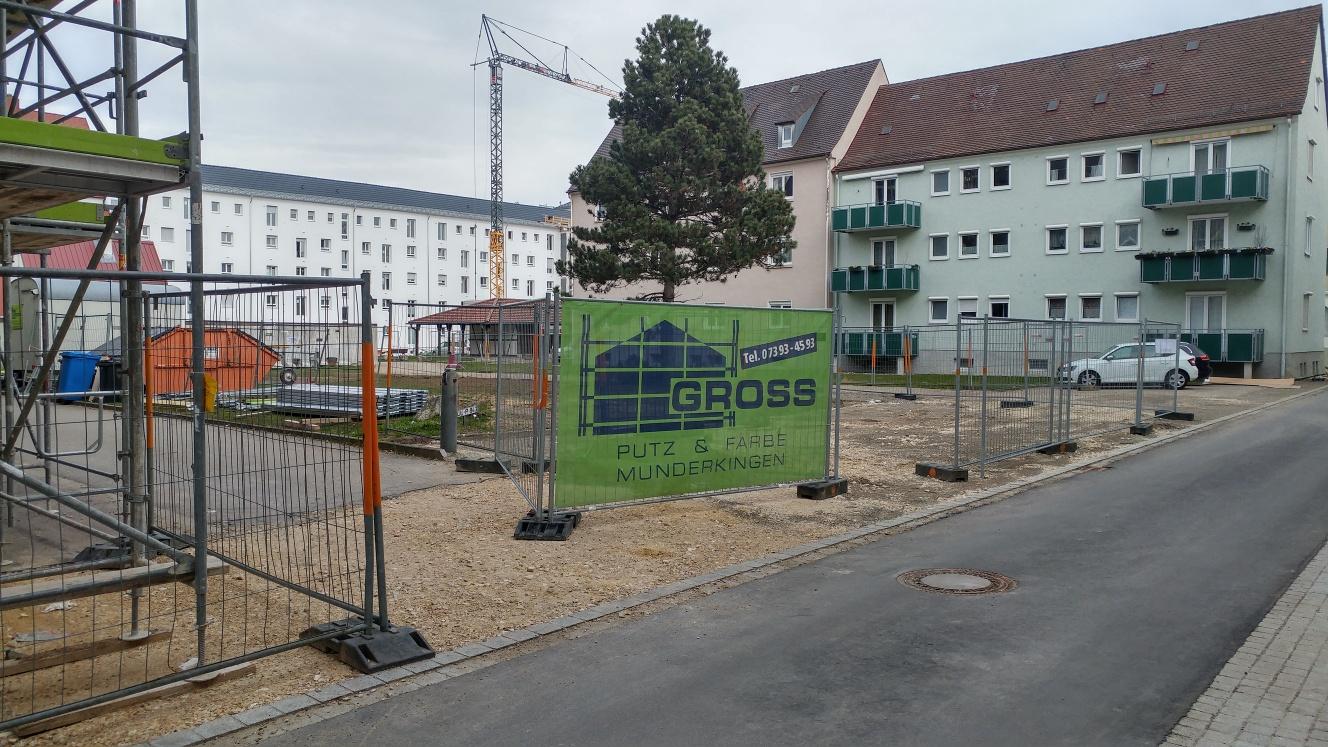 Ulm Neubau Weststadt März 2017