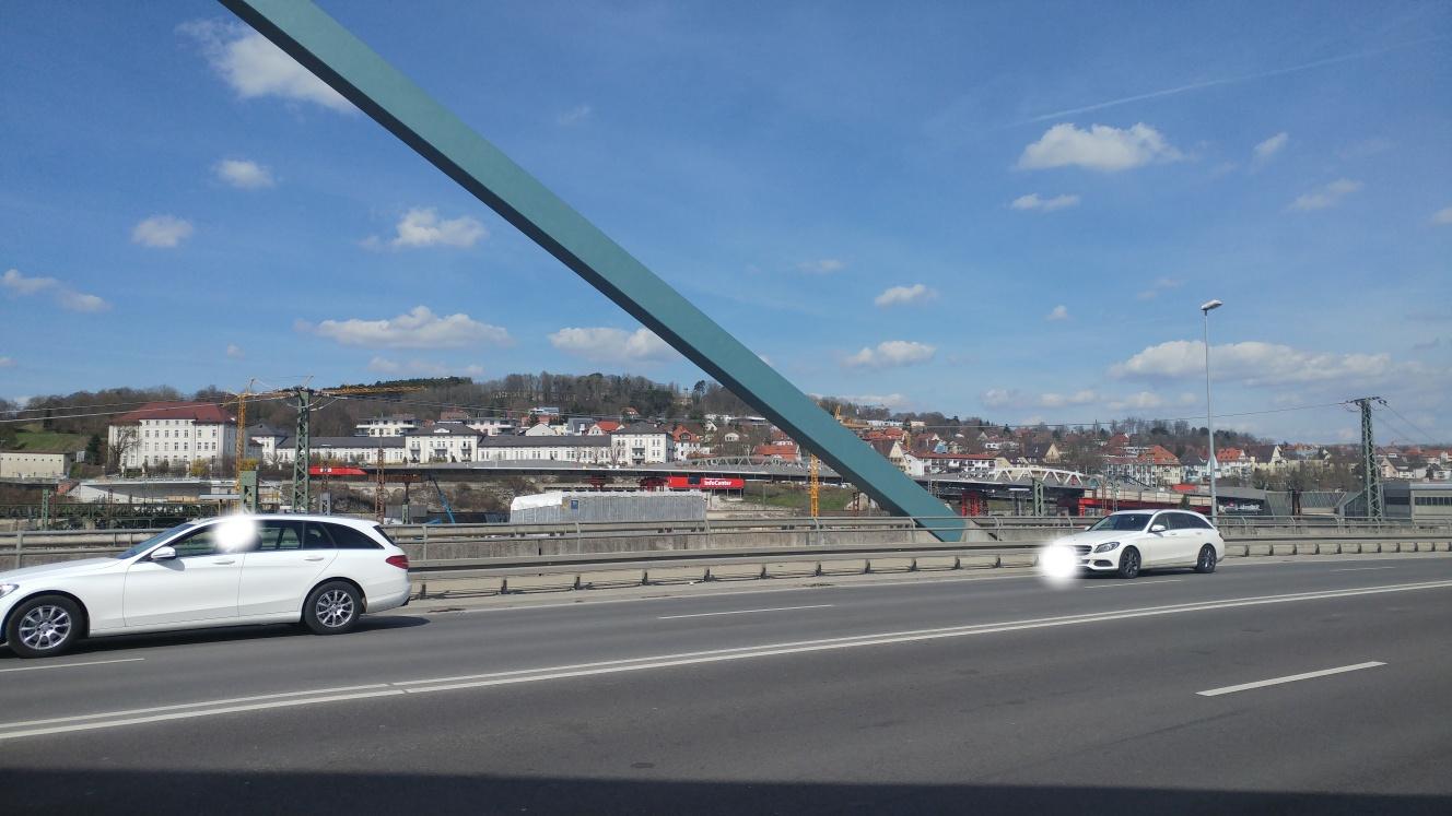 Linie 2 Brücke März 2017