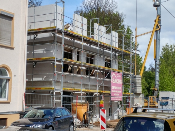 Neubau Zeitblomstraße April 2017