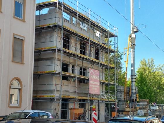 Neubau Zeitblomstraße Mai 2017