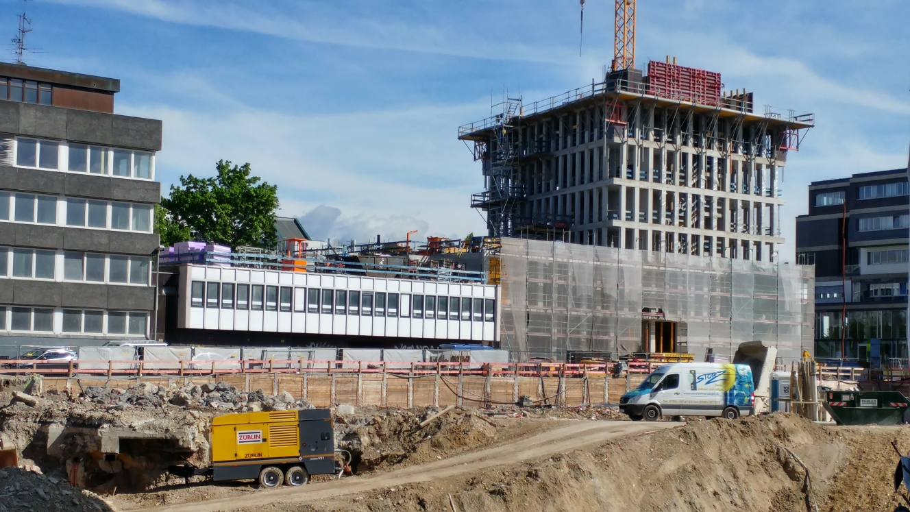 Dienstleistungszetrum Olgastraße Mai 2017