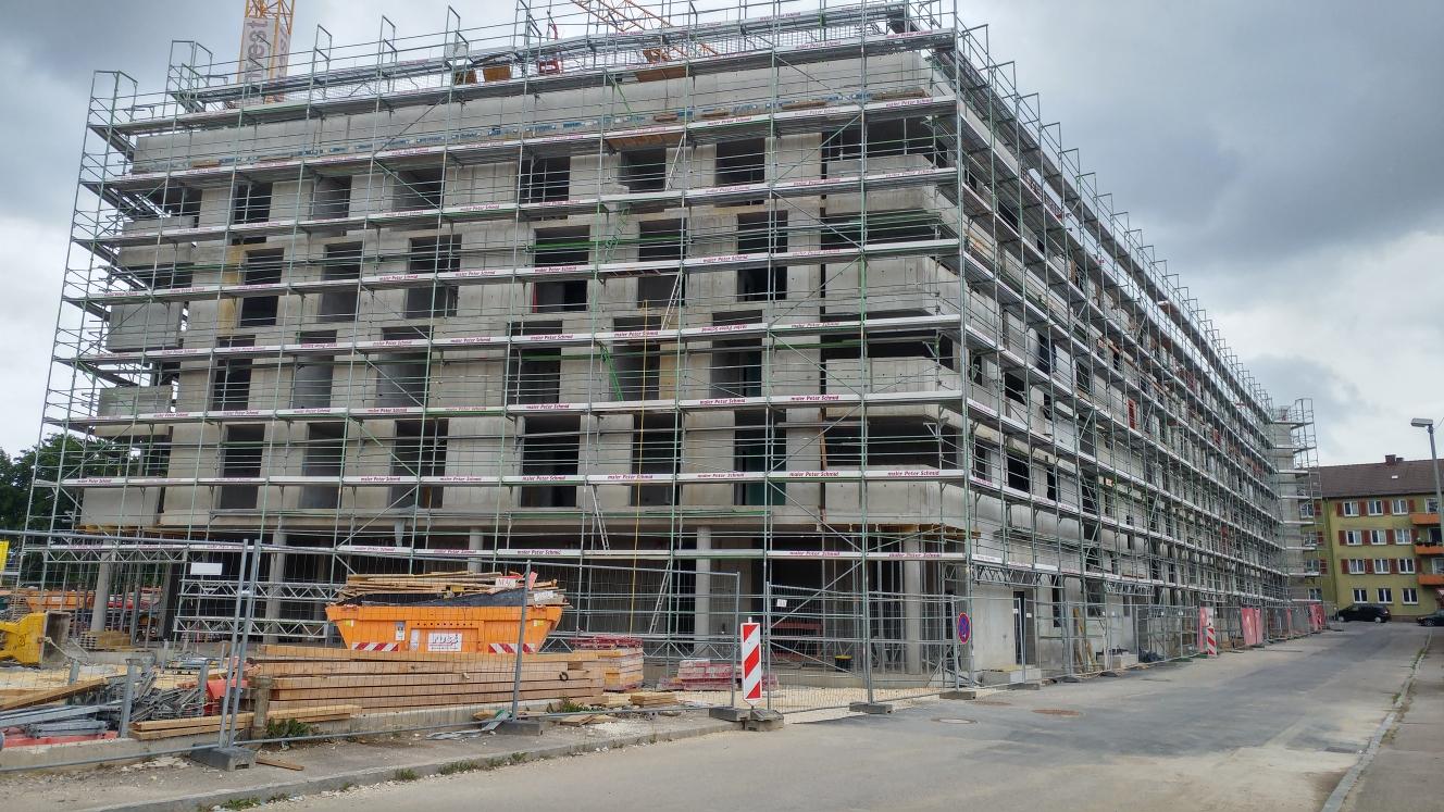 Neubau Dichterviertel Quartier und Hotel Juni 2017