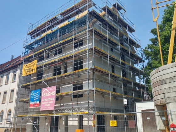 Ulm Neubau Zeitblomstraße Juni 2017