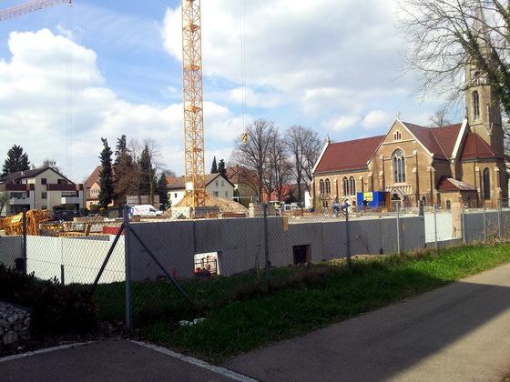 Ulm Wohnpark Koenigstraße Neues Gemeindehaus Söflingen (31)