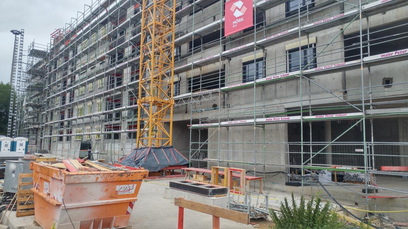 Tag der offenen Tür Quartier & Hotel Dichterviertel Ulm Juli 2017