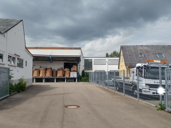 Ulm Welz Areal Neubebauung Magirusstraße August 2017