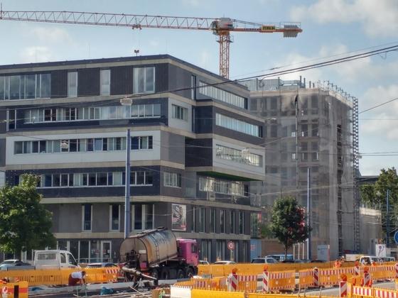 Ulm Dienstleistungszetrum Olgastraße September 2017