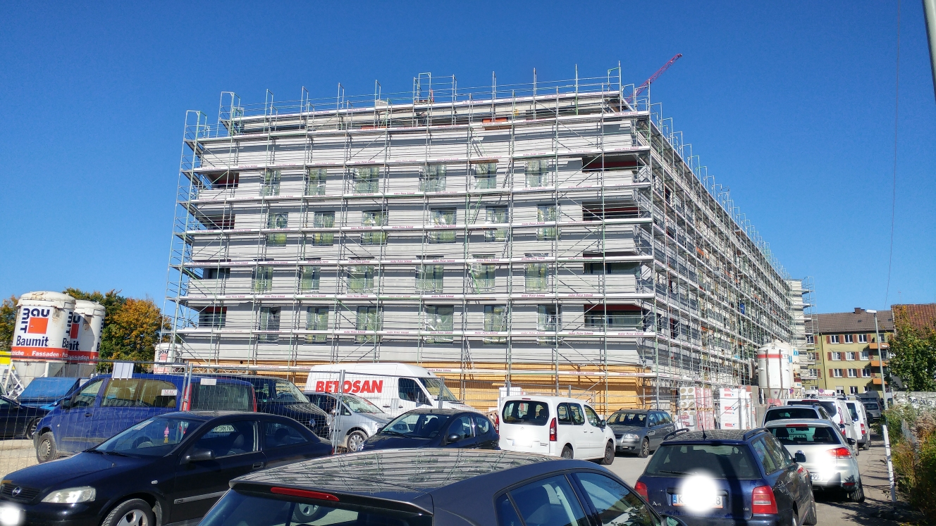 Ulm | Quartier + Hotel | Dichterviertel | Oktober 2017