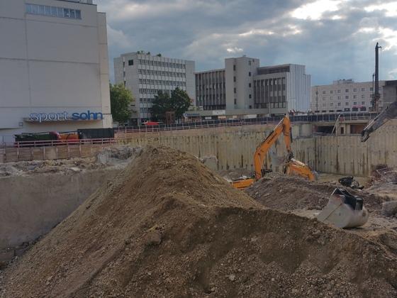 Sedelhöfe und Bahnhofsplatz 7 am 05.09.2017