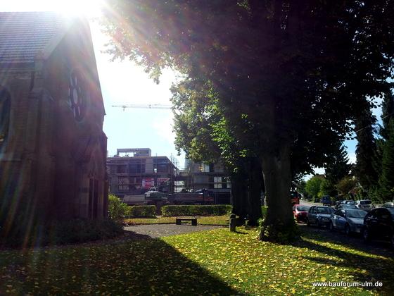 Ulm Neues Gemeindehaus  Wohnanlage Koenigstraße Oktober 2012 (1)