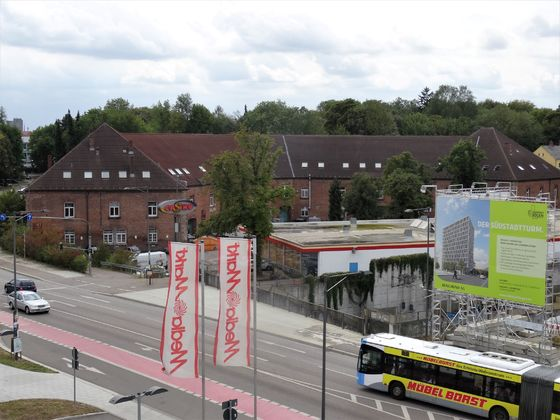 Südstadtbogen August 2018