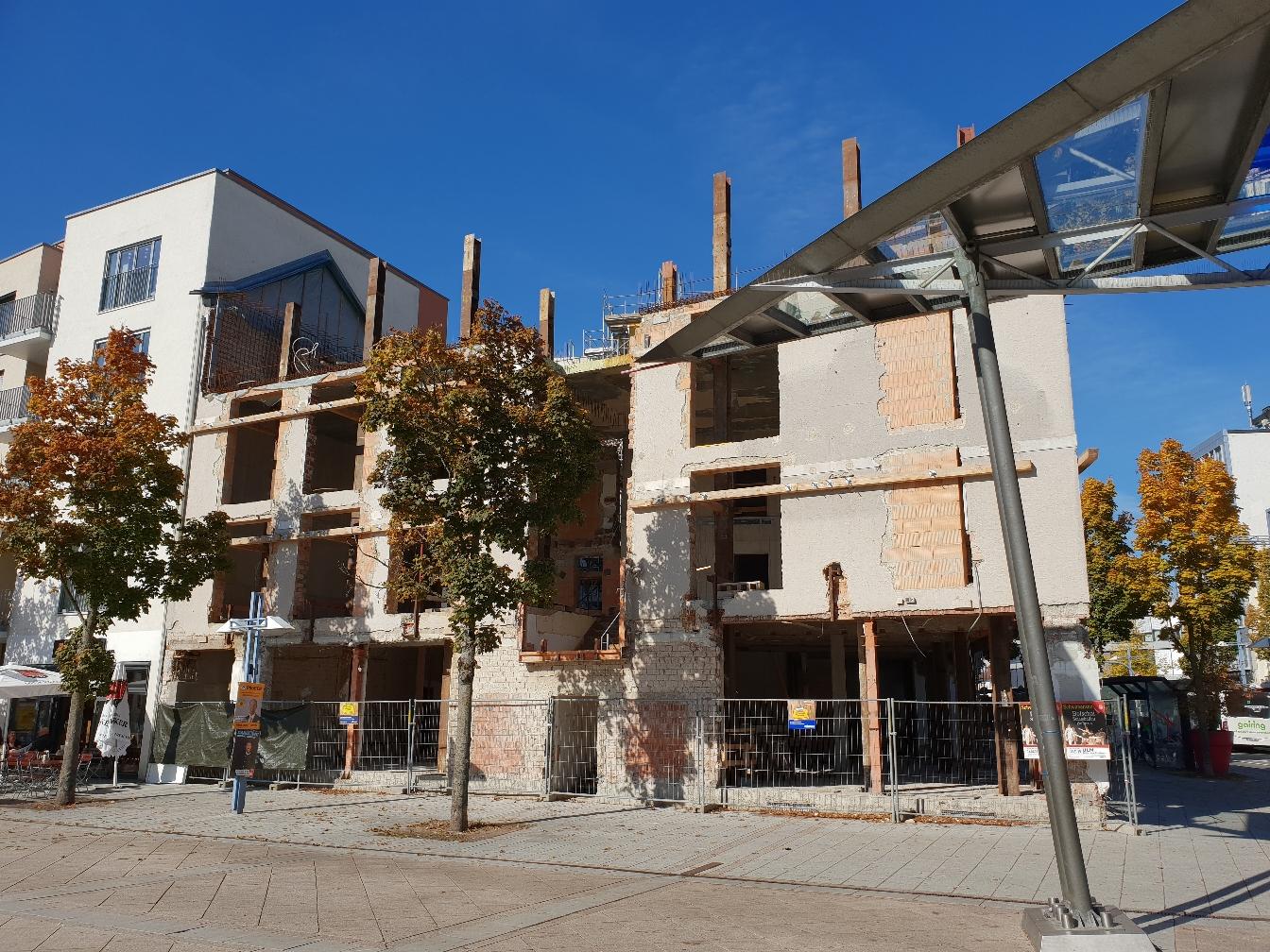 Neu Ulm Wohn und Geschäftshaus Marienstraße November 2018