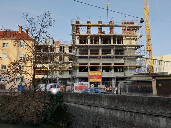 Ulm Gartenstraße 20 Januar 2019