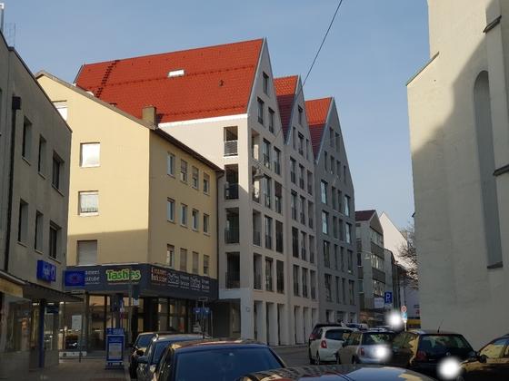 Ulm, Wengengasse 21-25, Januar 2019, Neubau