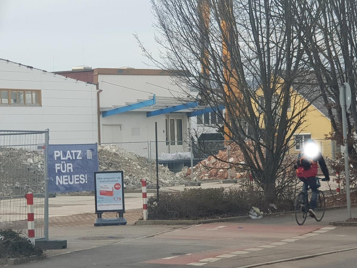 Ulm, Neubau, Walz Areal,Magigusstraße, Januar 2019Ulm, Neubau, Walz Areal,Magigusstraße, Januar 2019