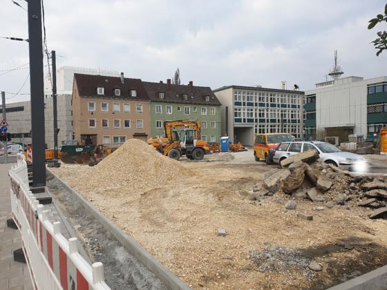 Theater Ulm Erweiterung Standort April 2019