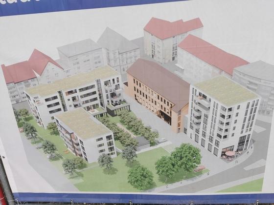 Neu-Ulm Hermann Köhl Straße Neubau