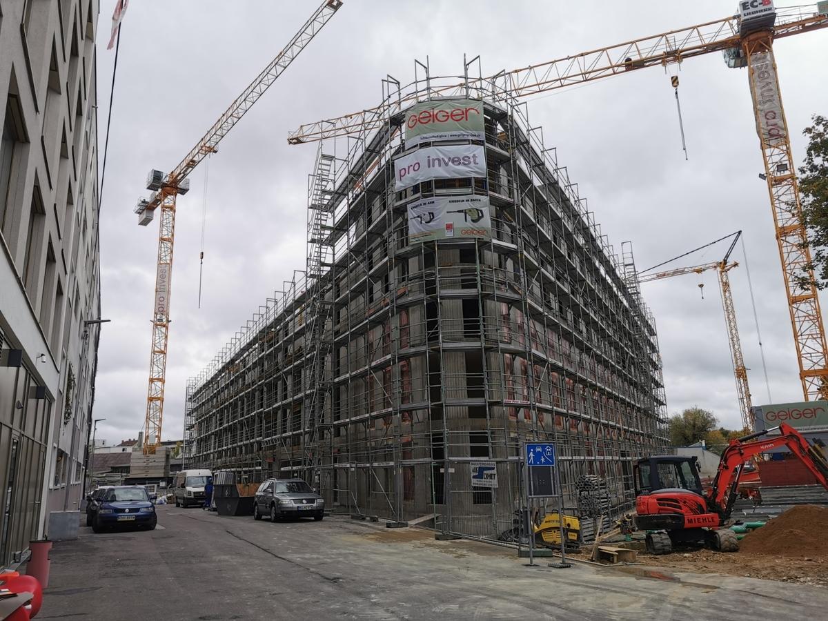 Ulm Neubau Dichterviertel Weststadt