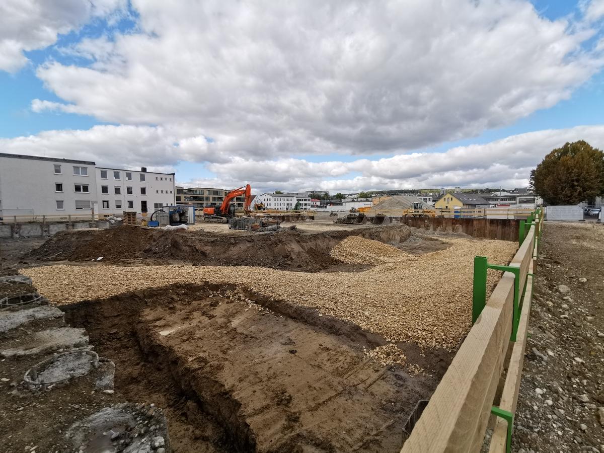 Neubebaung Magirusstraße Oktober 2019