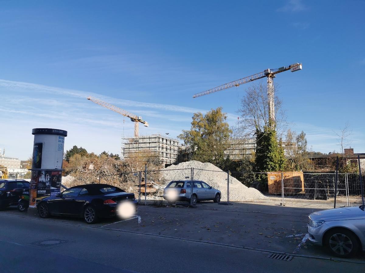 Ulm, Neubau, Dichterviertel, Oktober 2019