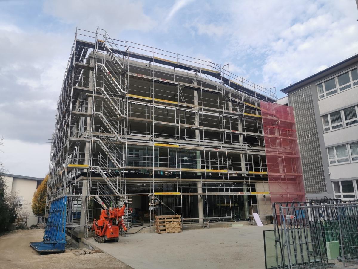 Ulm, Breuer, Verwaltungsgebäude, Oktober 2019
