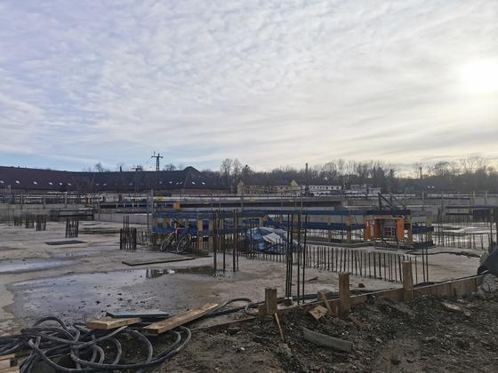 Neu-Ulm Südstadtbogen Januar 2020