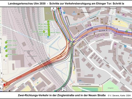 LGS Ulm 2030 - Neuordnung der Kreuzung zwischen Neuer Straße und Ebertstraße sowie Zinglerstraße 02 17x12cm