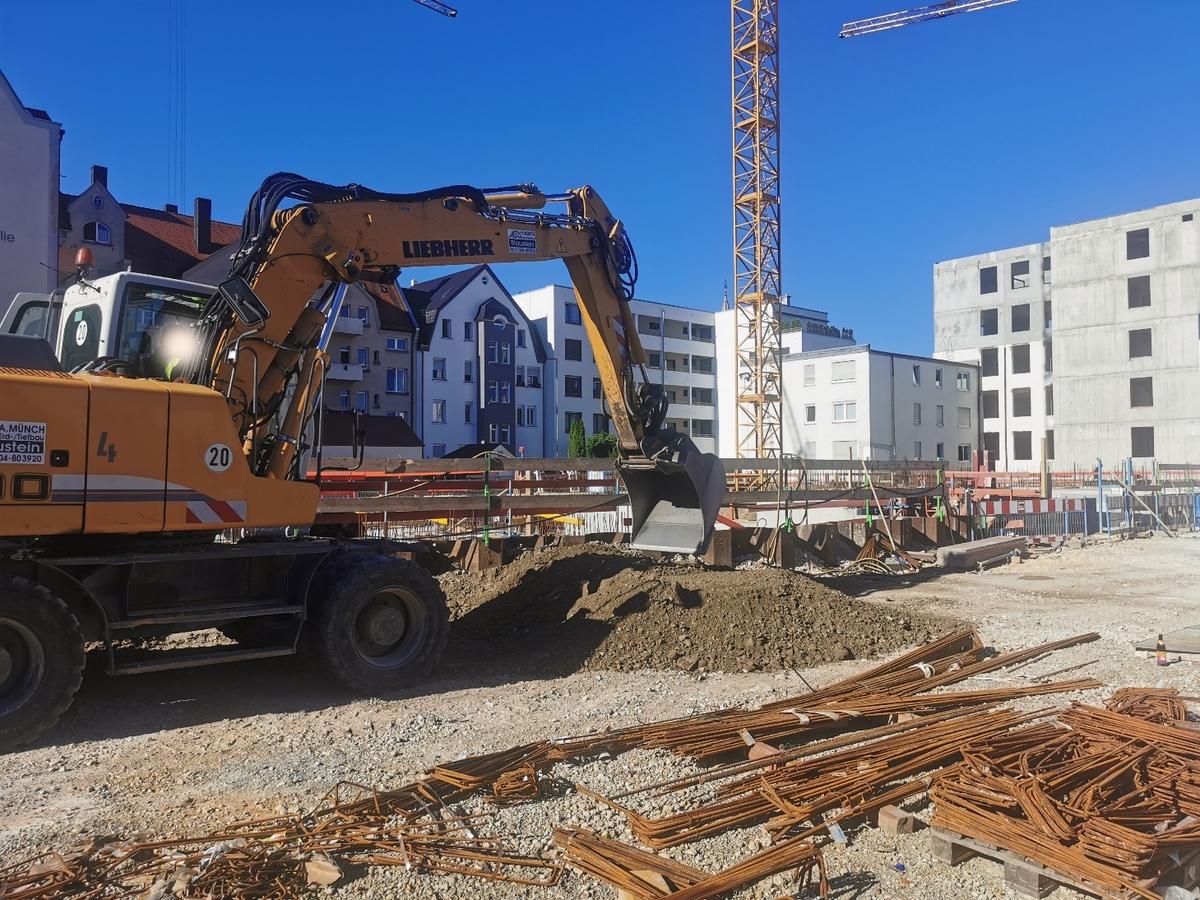 Ulm, Neubau, Quartier. Söflingen, Juli 2020