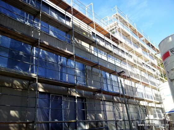 Ulm Neues Gemeindehaus  Wohnanlage Koenigstraße Oktober 2012 (3)