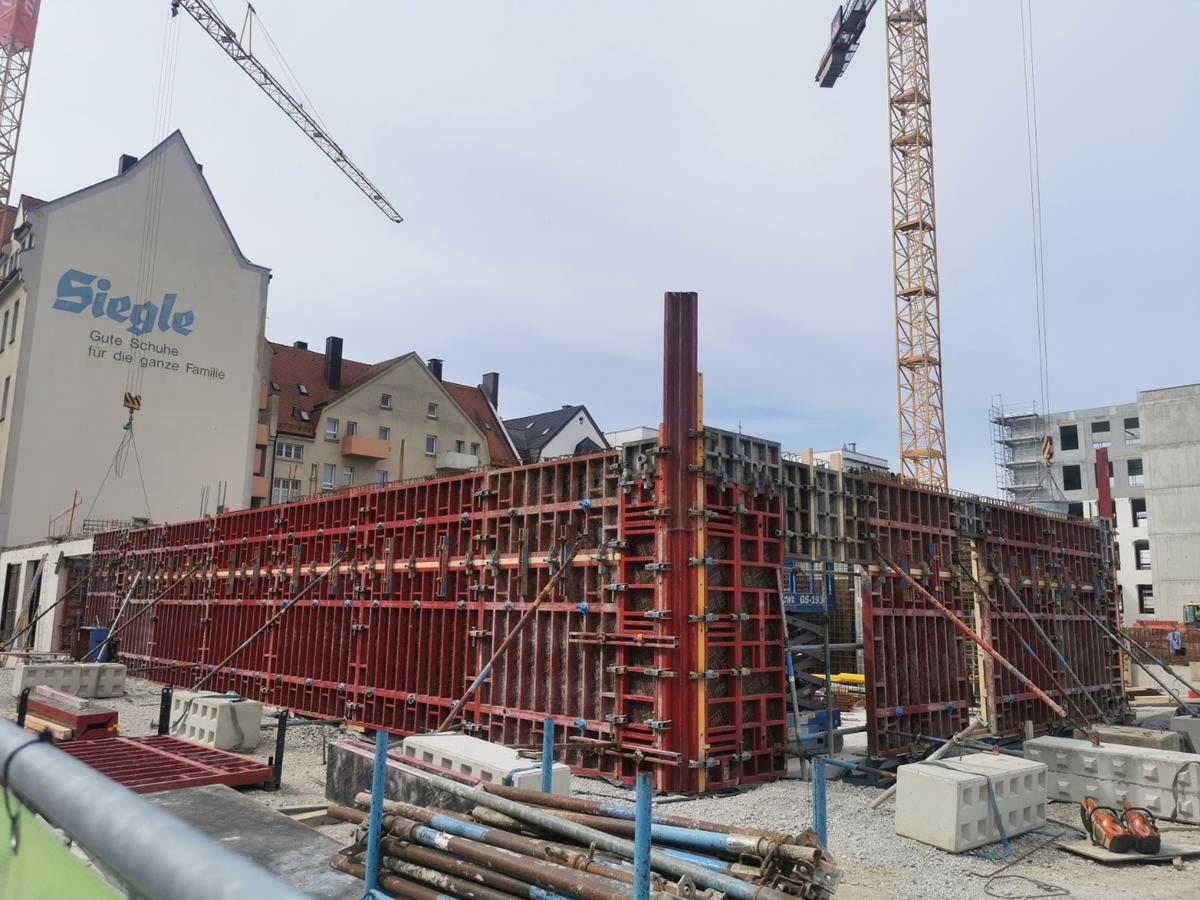 Ulm, Quartier Söflingen, August 2020