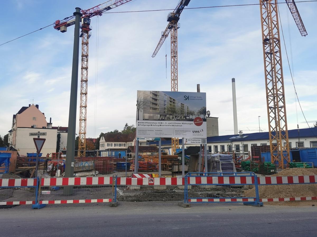 Ulm Neubau Söflinger Straße 120 /124 Oktober 2020