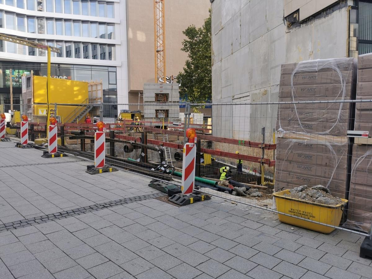 Ulm Neubau Bahnhofstraße 13 Oktober 2020