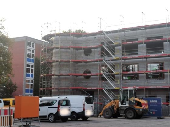 Ulm Neubau Siedlungswerk Oktober 2020