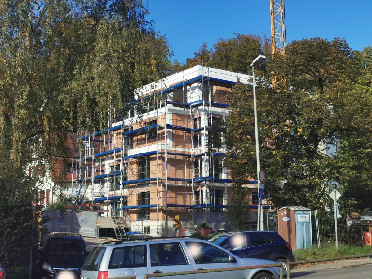 Ulm, Neubau Oktober 2020