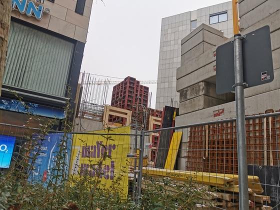 Ulm, Neubau, Apotheke und Ärztehaus, Dezember 2020
