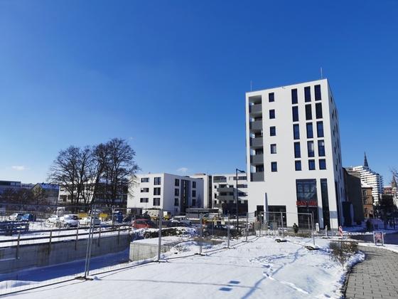 Neu-Ulm Neubau Wohnpark Gartenstraße Februar 2021
