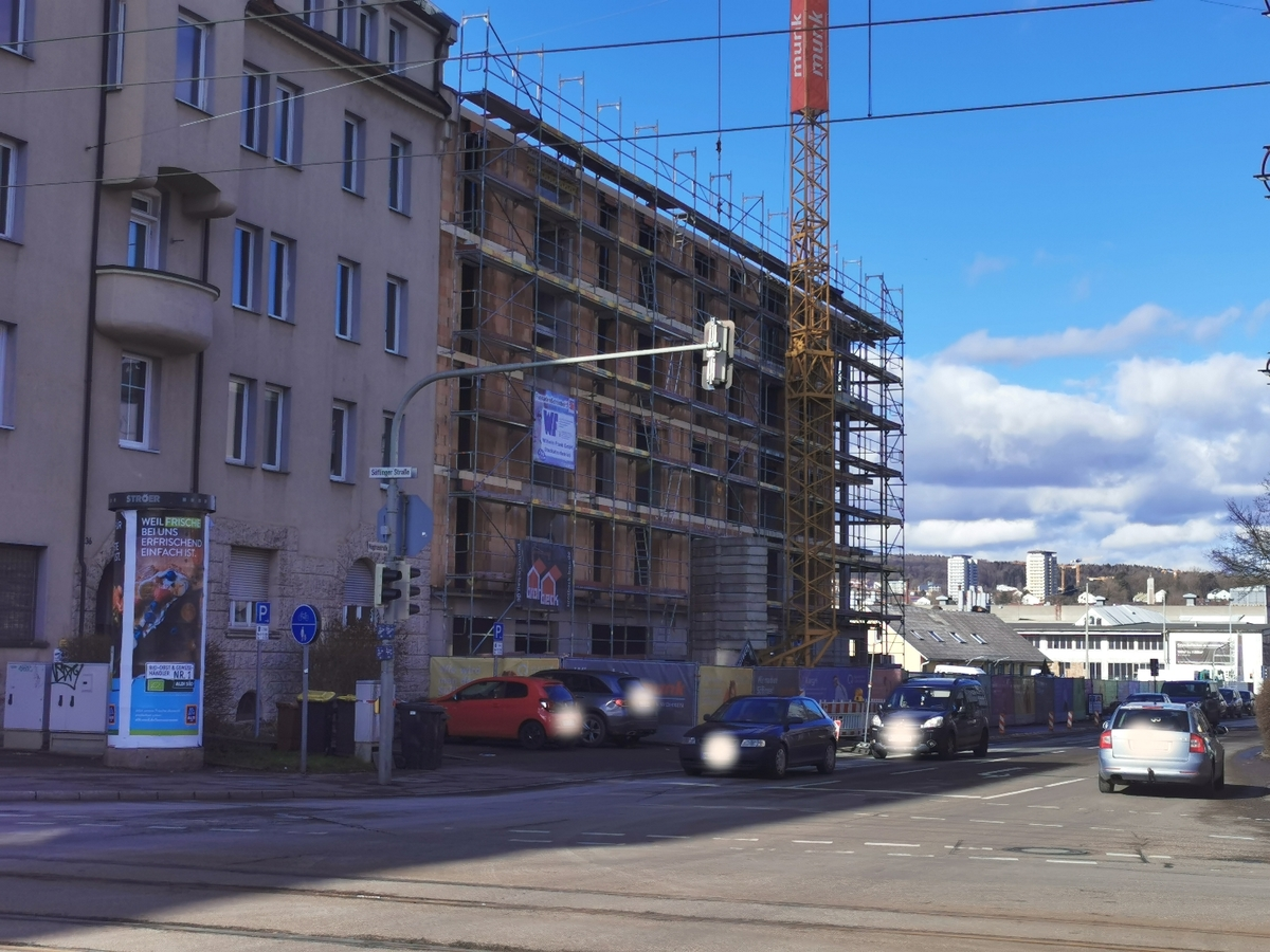 Ulm, Quartier Söflingen, Februar 2021